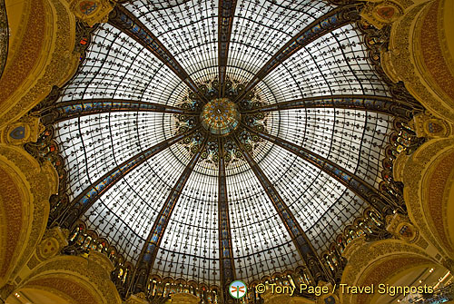 Roof of Galeries Lafayette