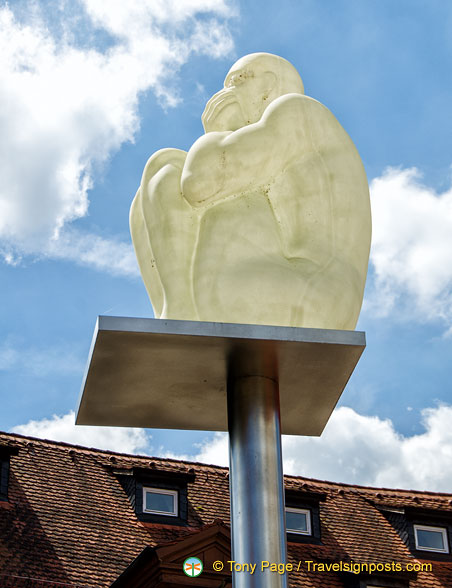 Sculpture at the Klosterbräu