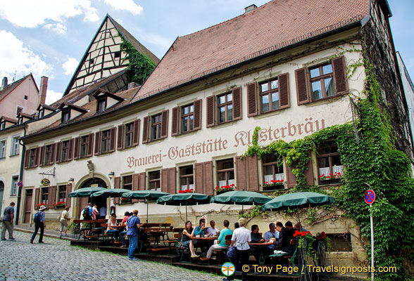 Brauerei-Gaststätte Klosterbräu - the restaurant of the oldest brewery in Bamberg