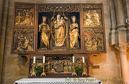 Altar carvings at Bamberg Cathedral