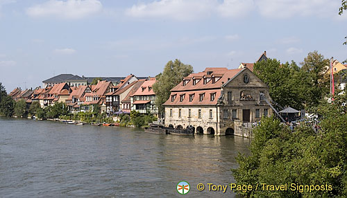 Bamberg's Little Venice or Klein-Venedig