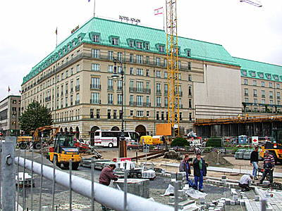 The famous Hotel Adlon