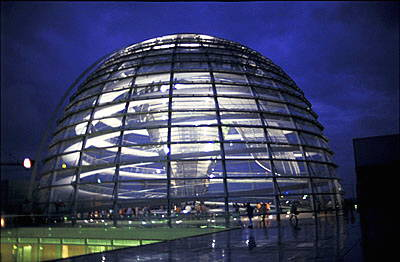 The new Reichstag, Berlin