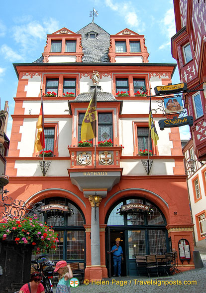 Bernkastel Rathaus or Town Hall