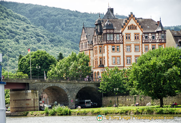 A mansion in Bernkastel