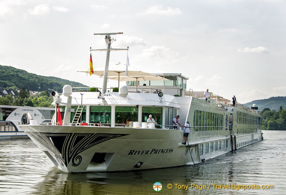 The River Princess in Bernkastel