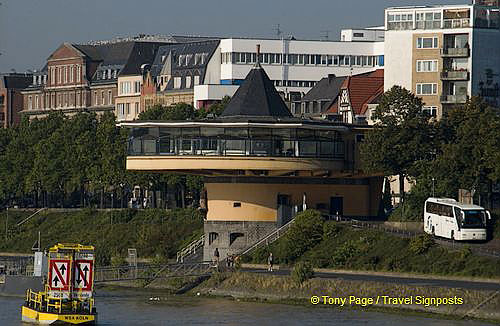 Cologne harbour control tower