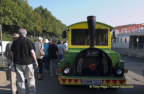Our mini tourist train