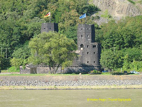 Towers of the Bridge at Remagen