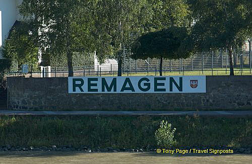 Remagen - the town with the famous bridge