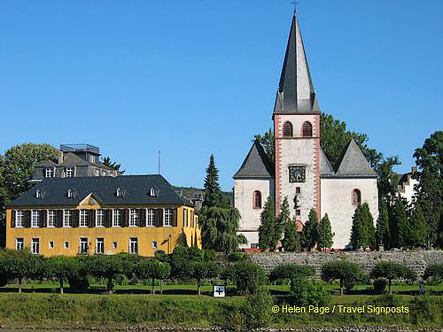 Catholic parish church of St. Pantaleon in Unkel