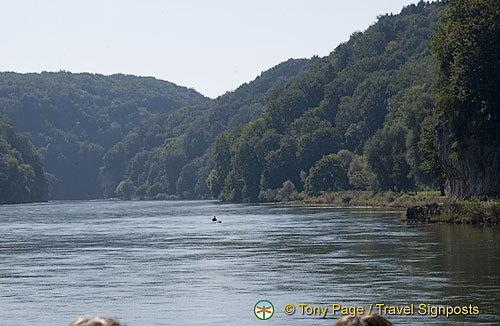 Danube Gorge and Weltenburg Abbey