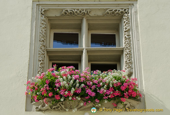 Old Town Hall window