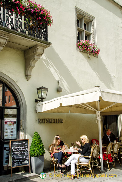 Ratskeller, a restaurant in the Old Town Hall