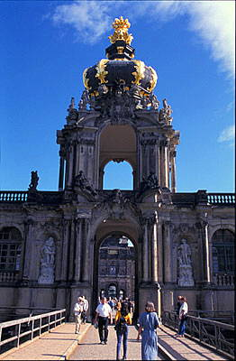 Zwinger Palace - built in 1709-32