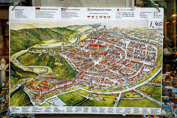 Map Of Rothenburg
