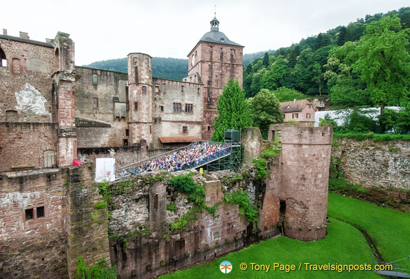 Heidelberg Castle - a play in progress