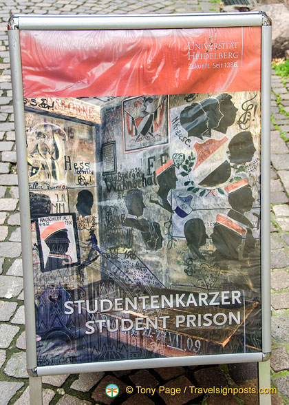 Poster for Heidelberg Studentenkarzer, the student prison