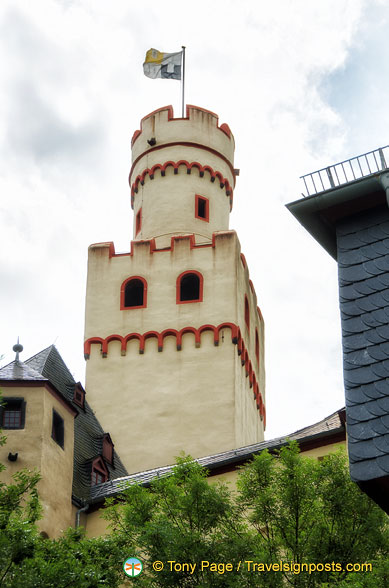 Marksburg castle tower