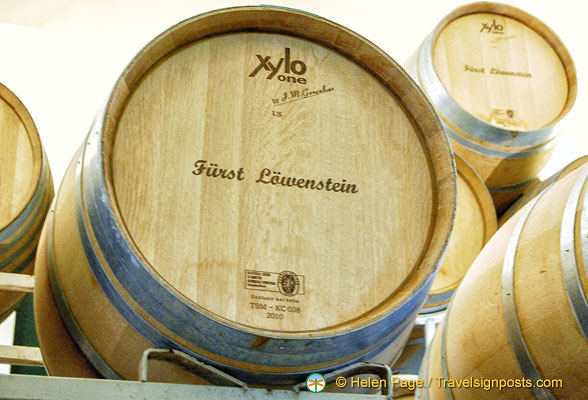 Fürst Löwenstein - brand name of Löwenstein estate wines