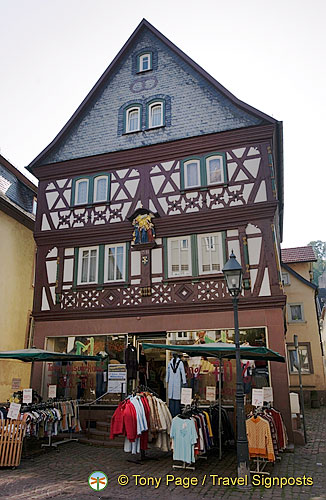 Miltenberg's timber-frame houses