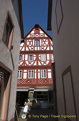 Miltenberg's timber-frame buildings