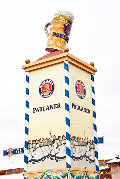 The Paulaner tower