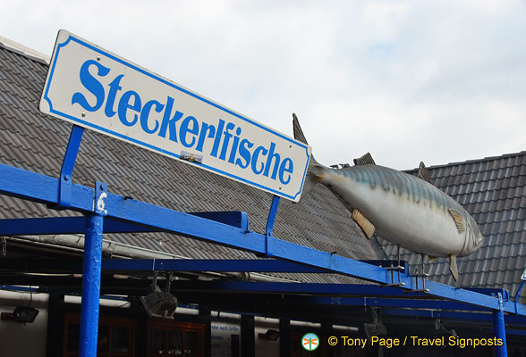 Mackeral is commonly used in Steckerlfische