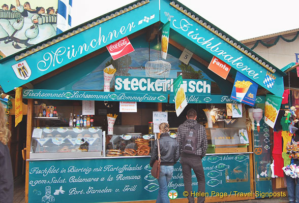 Munchner Fischbraterei has steckerlfisch as well