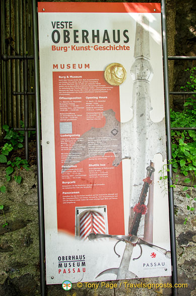 About the Oberhaus Museum