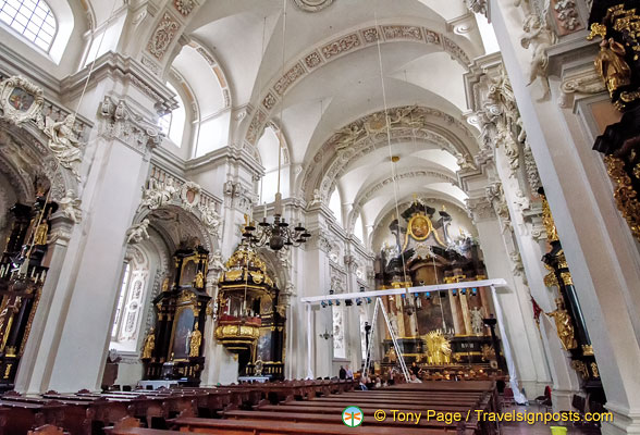 Church of St Michael - a venue for classical concerts in Passau churches