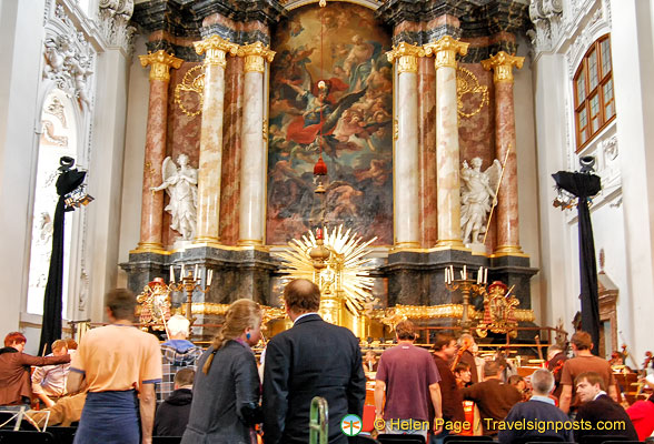 Classical concert in Passau's Church of St Michael
