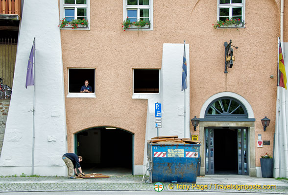 Rebuilding work in Passau after the floods
