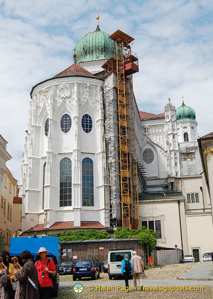 Renovations to St Stephens Cathedral
