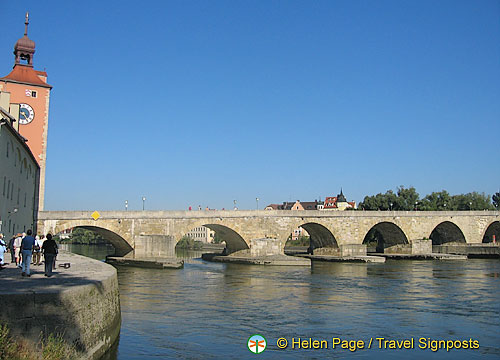 View of the Old Stone Bridge