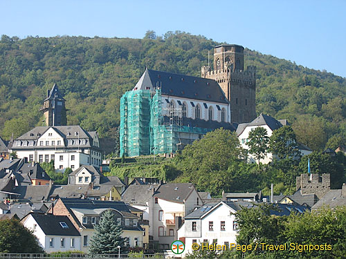 Oberwesel's St. Martin Church