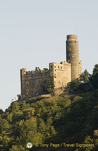Burg Maus - Built in 1356 by the Archbishop of Trier