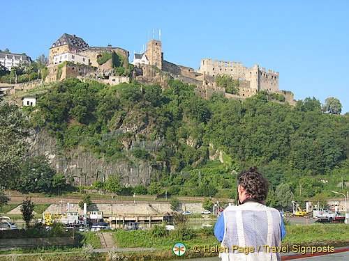Tony shooting Rheinfels Castle