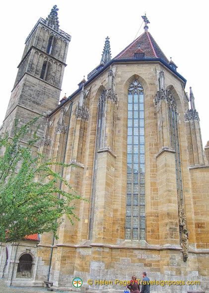 Jakobskirche - Rothenburg's main church
