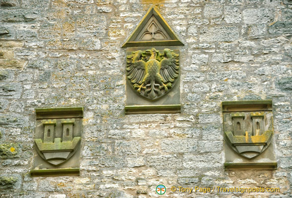 Coat of Arms of Germany and Rothenburg ob der Tauber