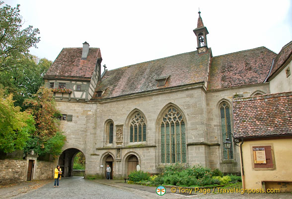 St Wolfgang's - a late Gothic fortress church