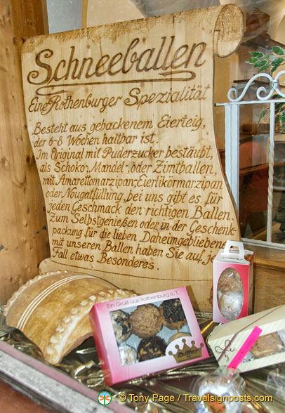 Some information about Rothenburg schneeballen