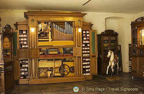 Organ music box
