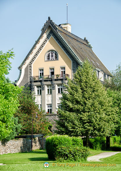 Villa Huesgen the art nouveau home of the Villa Huesgen wine-producing family.