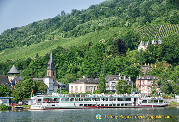 Traben-Trarbach, a popular river cruise stop