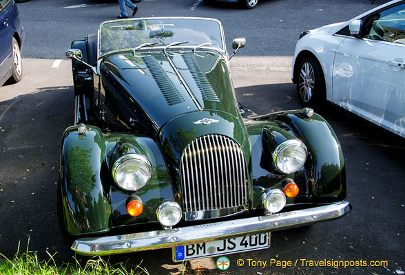 Not a tourist attraction, but this Morgan attracted a lot of attention