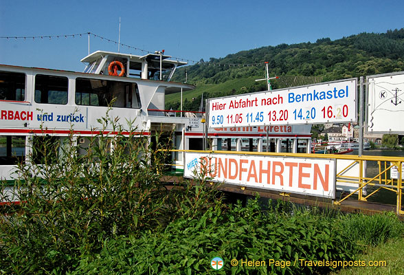 Moselle river cruises from Traben-Trarbach