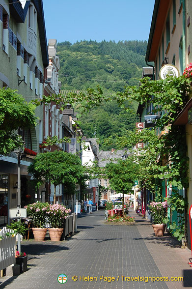 A beautiful street in Trarbach