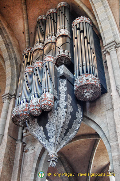 Pipe organ at Trier Dom