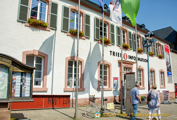 Trier Tourist Information office